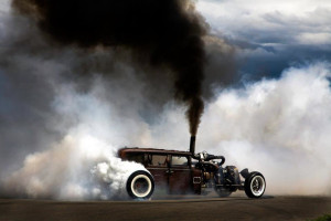 Dodge rat rod diesel