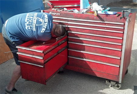 Toolboxes & Tie-Downs (to Fix or Haul): Some Gearhead Goodness Requires Effort.
